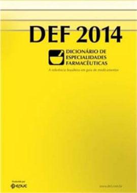 DEF 2014 - DICIONARIO DE ESPECIALIDADES - 8575730584