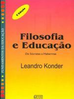 FILOSOFIA E EDUCAÇAO
