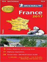 FRANCE 2017 - NATIONAL MAP