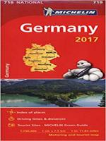 GERMANY 2017 - NATIONAL MAP