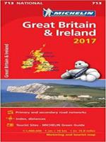 GREAT BRITAIN & IRELAND 2017 - NATIONAL MAP